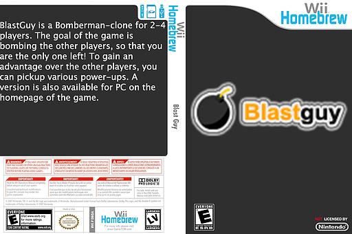 BlastGuy Homebrew cover (DBGA)