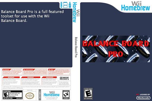 Balance Board Pro Homebrew cover (DBPA)