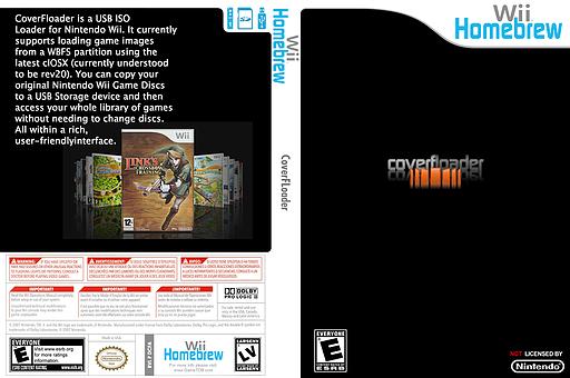 Coverfloader Homebrew cover (DCFA)