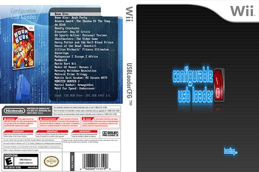Configurable USB Loader Homebrew cover (DCLA)