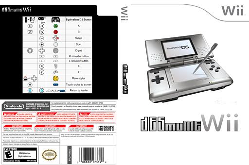 DeSmuME Homebrew cover (DDSA)