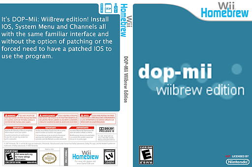 DOP Mii Wiibrew Edition Homebrew cover (DDWA)