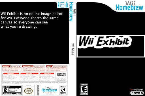 Wii Exhibit Homebrew cover (DEWA)