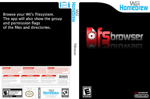 Fsbrowser Homebrew cover (DFBA)