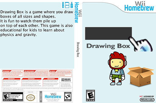 Drawingbox Homebrew cover (DK4A)
