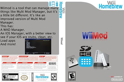 WiiMod Homebrew cover (DMDA)
