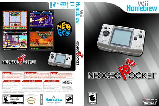 NeoPopWii Homebrew cover (DNPA)