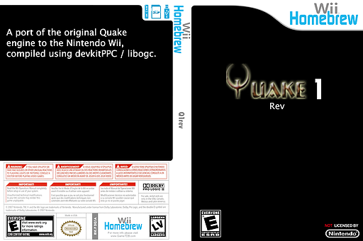 Q1rev Homebrew cover (DQ1A)