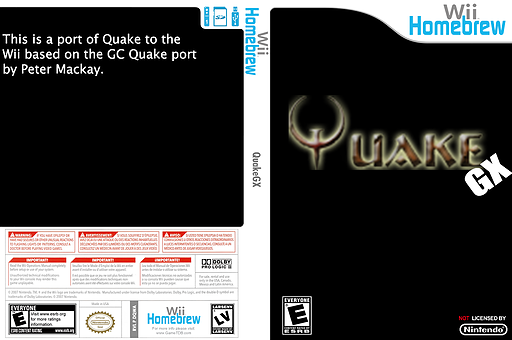 Quakegx Homebrew cover (DQWA)