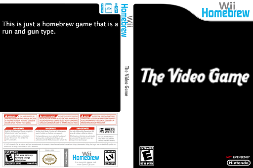 The Video Game Homebrew cover (DVGA)