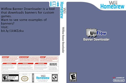 Wiiflow Banner Downloader Homebrew cover (DWDA)