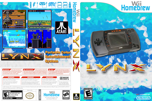 WiiHandySDL Homebrew cover (DWHA)
