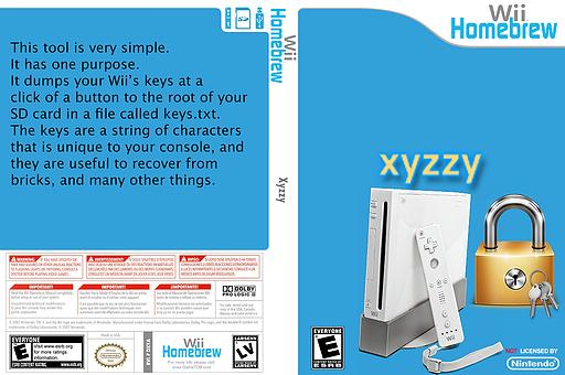 xyzzy Homebrew cover (DXYA)