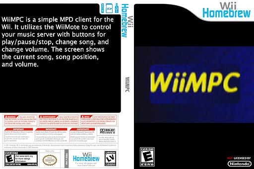 WiiMPC Homebrew cover (DZ8A)