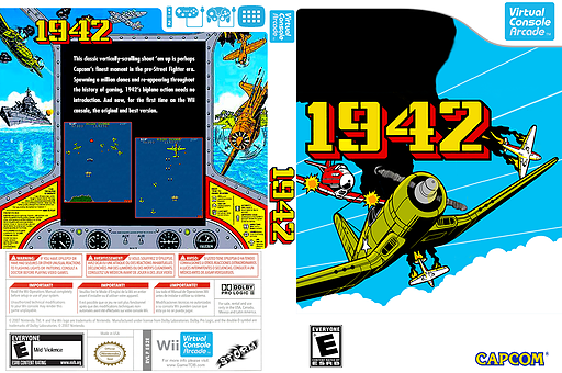 1942 VC-Arcade cover (E52E)