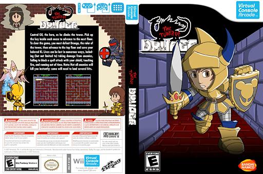 The Tower of Druaga VC-Arcade cover (E7ZE)