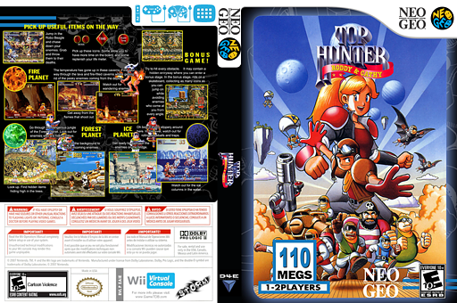 Top Hunter VC-NEOGEO cover (EAIE)