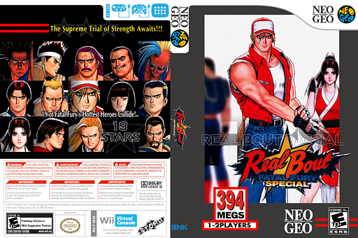Real Bout Fatal Fury Special VC-NEOGEO cover (EB2E)