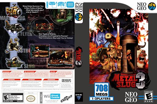 Metal Slug 3 VC-NEOGEO cover (EB6E)