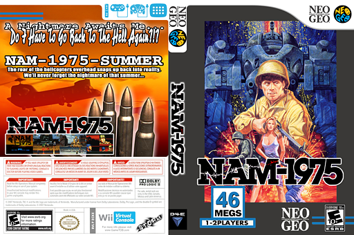 NAM-1975 VC-NEOGEO cover (ECKE)