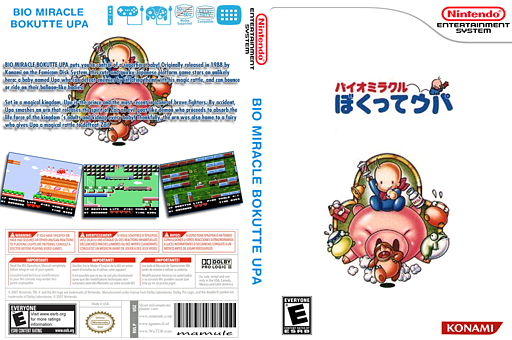 Bio Miracle Bokutte UPA VC-NES cover (FEMN)