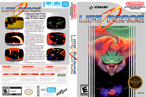 Life Force VC-NES cover (FENE)