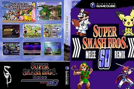 Super Smash Bros. Melee: SD Remix GameCube cover (G01E01)