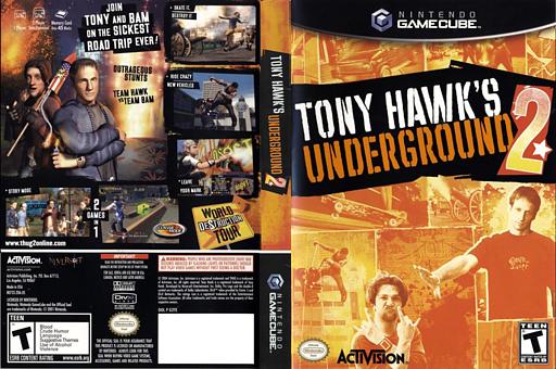 Tony Hawk's Underground 2 GameCube cover (G2TE52)
