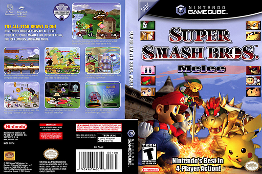 super smash bros melee iso ntsc mega