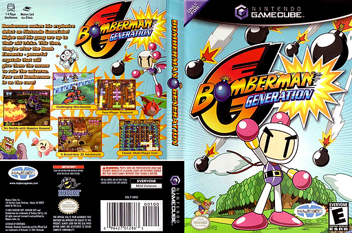 Bomberman Generation GameCube cover (GBGE5G)