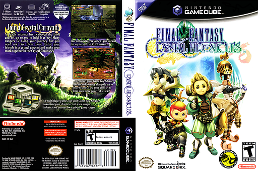 Final Fantasy Crystal Chronicles GameCube cover (GCCE01)