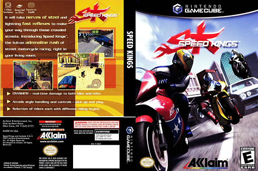 Speed Kings GameCube cover (GDCE51)