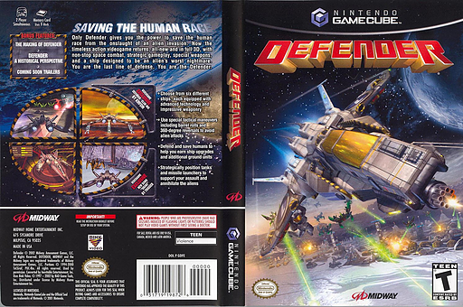 Defender GameCube cover (GDFE5D)