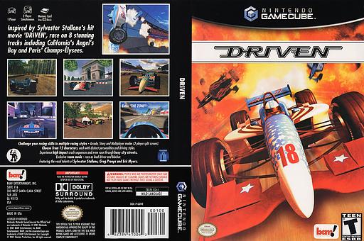 Driven GameCube cover (GDVE6L)