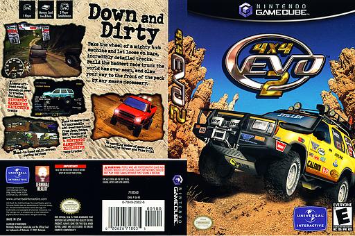 4x4 Evo 2 GameCube cover (GE4E7D)