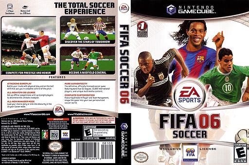 FIFA Soccer 06 GameCube cover (GF6E69)