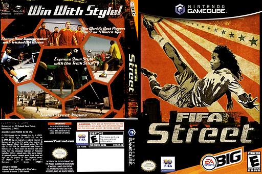FIFA Street GameCube cover (GF8E69)