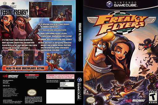 Freaky Flyers GameCube cover (GFFE5D)