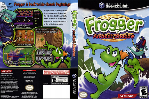Frogger: Ancient Shadow GameCube cover (GFPEA4)