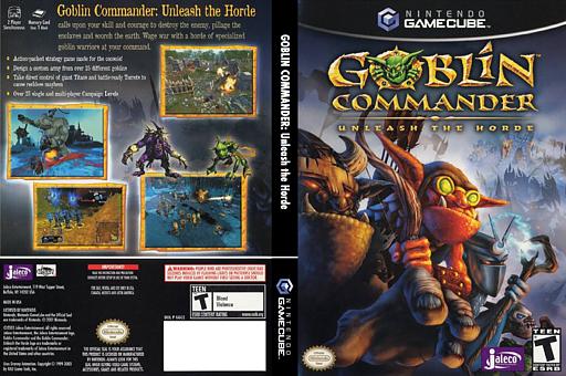 Goblin Commander: Unleash The Horde GameCube cover (GGCE0A)