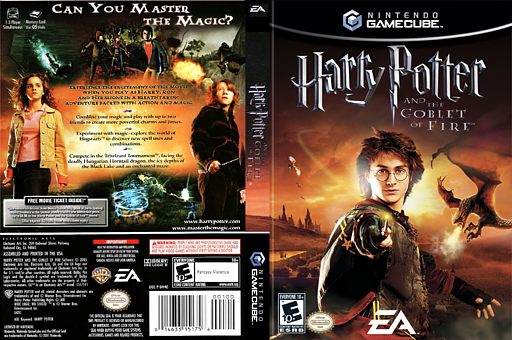 Harry Potter and the Goblet of Fire GameCube cover (GH4E69)