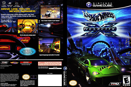 Hot Wheels: Velocity X GameCube cover (GHWE78)