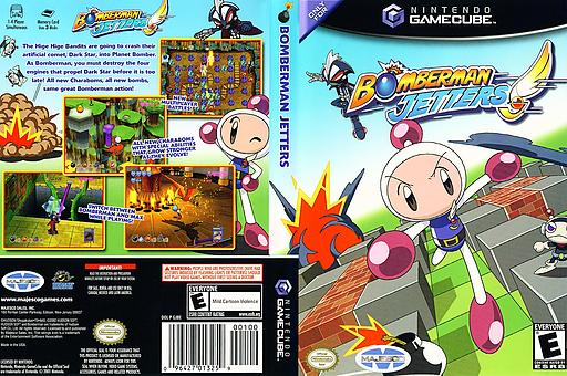 Bomberman Jetters GameCube cover (GJBE5G)