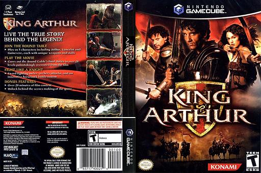 King Arthur GameCube cover (GKHEA4)