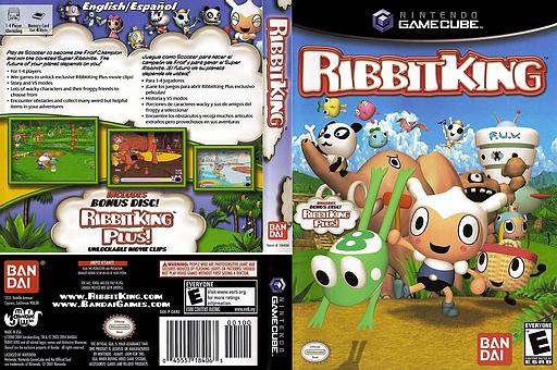 Ribbit King GameCube cover (GKREB2)