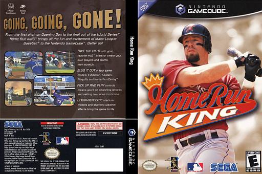 Home Run King GameCube cover (GLBE8P)