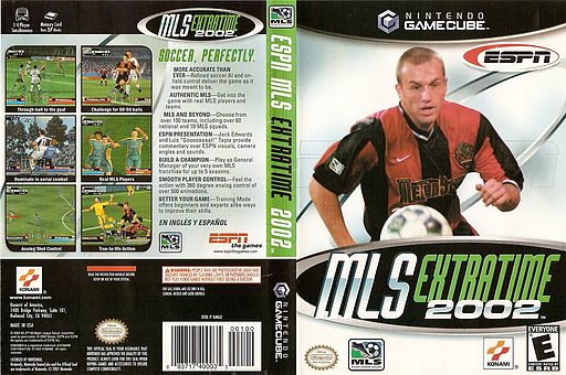 ESPN MLS Extra Time 2002 GameCube cover (GMLEA4)