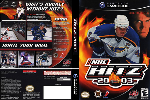 NHL Hitz 2003 GameCube cover (GN3E5D)