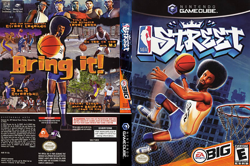 NBA Street GameCube cover (GNSE69)