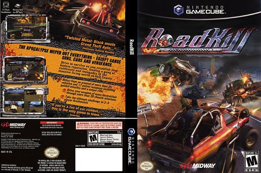 RoadKill GameCube cover (GOCE5D)